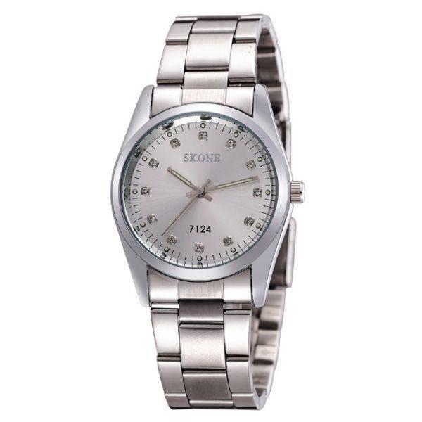 Relógio Masculino Skone Analógico 7124 Prata