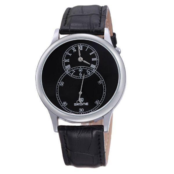 Relógio Masculino Skone Analógico 9295EG Preto