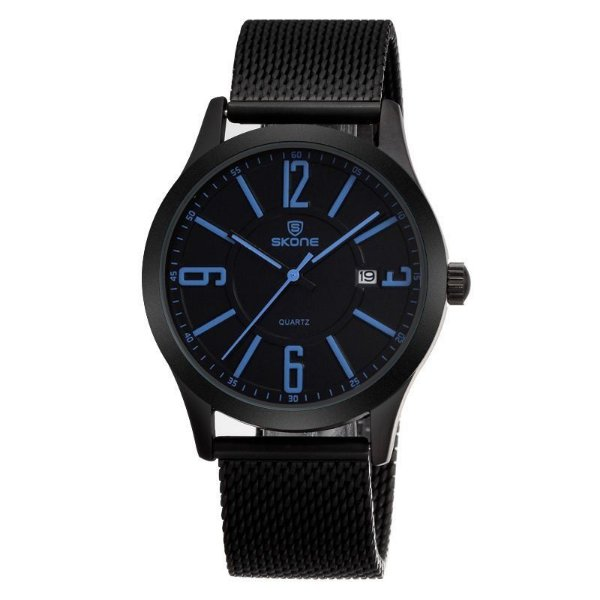 Relógio Masculino Skone Analógico Casual 7347 Azul
