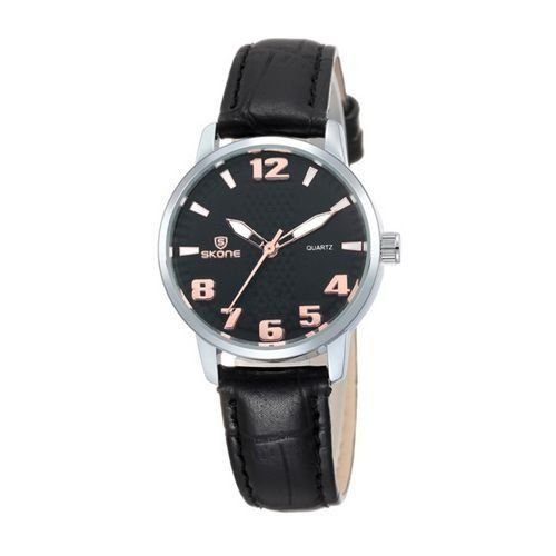 Relógio Masculino Skone Analógico Casual 9330 Preto