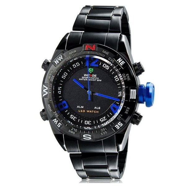 Relógio Masculino Weide AnaDigi Esporte WH-2310 Azul
