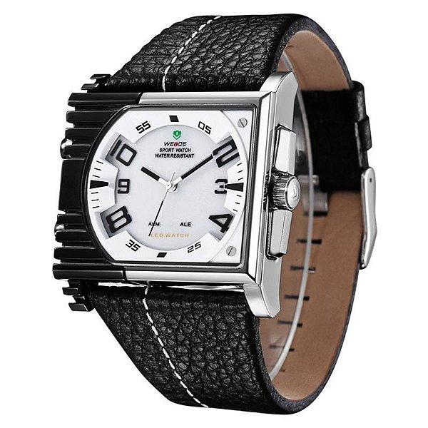 Relógio Masculino Weide AnaDigi Esporte WH-2301 Branco