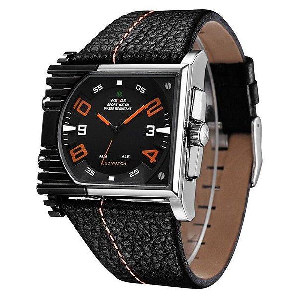 Relógio Masculino Weide AnaDigi Esporte WH-2301 Laranja