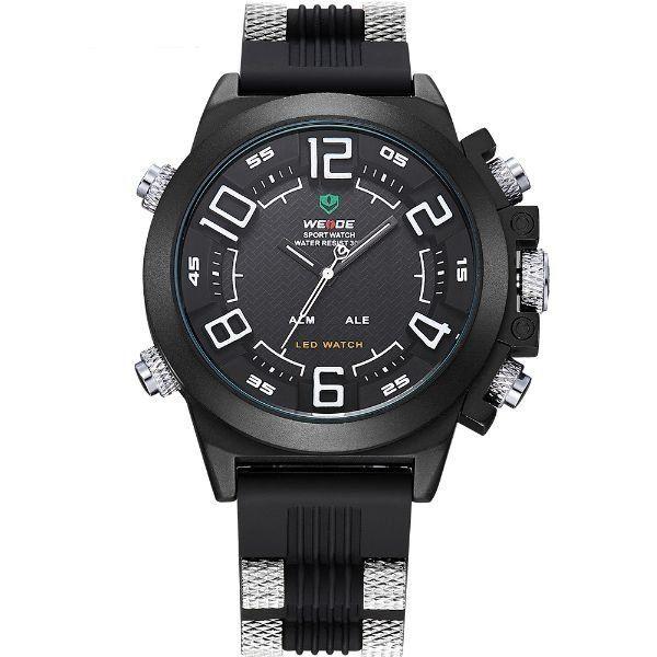 Relógio Masculino Weide Anadigi WH-5202 PT-BR