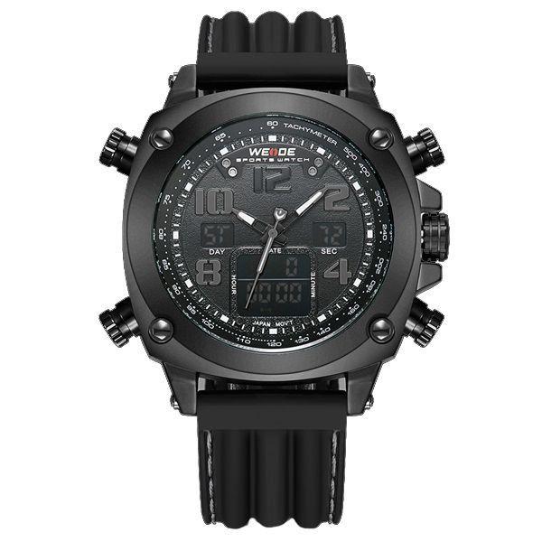 Relógio Masculino Weide Anadigi WH-5208 Cinza