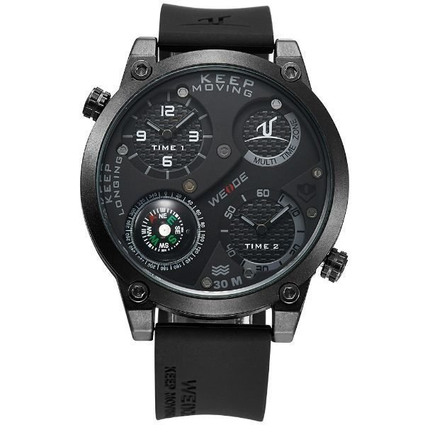Relógio Masculino Weide Analógico UV-1505 - Preto