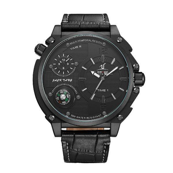 Relógio Masculino Weide Analógico UV-1507 Preto
