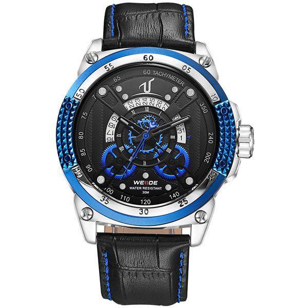 Relógio Masculino Weide Analógico UV-1605 Azul