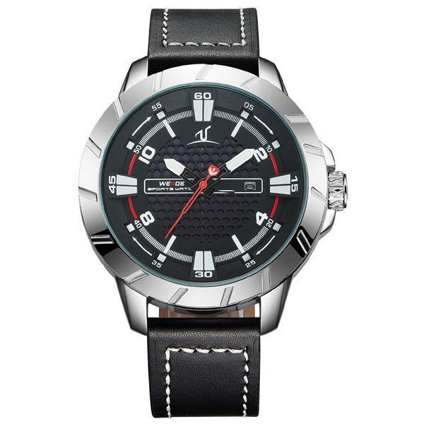 Relógio Masculino Weide Analógico UV-1608 Prata