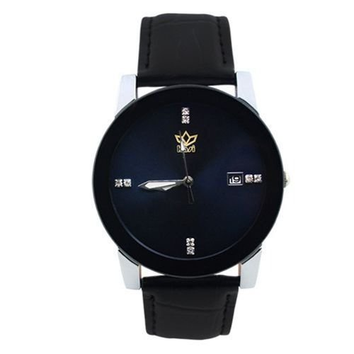 Relógio Unissex Kasi/Fmero Analógico Casual Y006 Preto