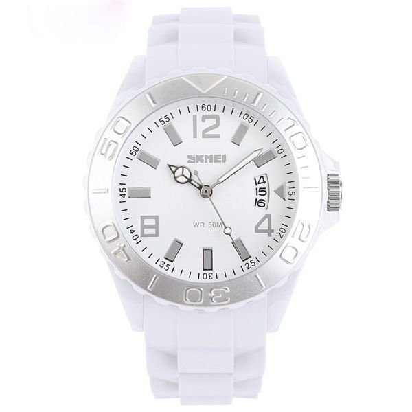 Relógio Feminino Skmei Analógico 1041 Branco