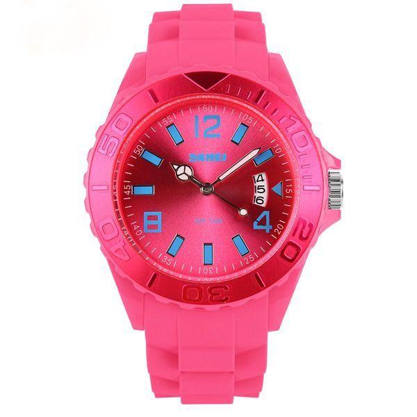 Relógio Feminino Skmei Analógico 1041 Rosa