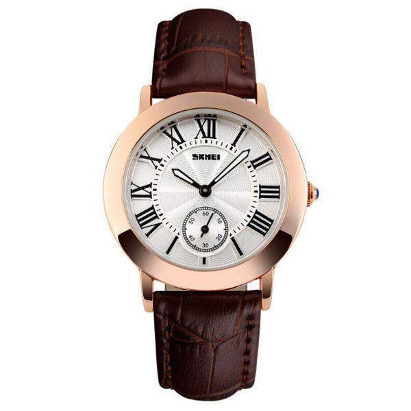 Relógio Feminino Skmei Analógico 1083 Marrom