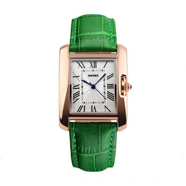 Relógio Feminino Skmei Analógico 1085 Verde