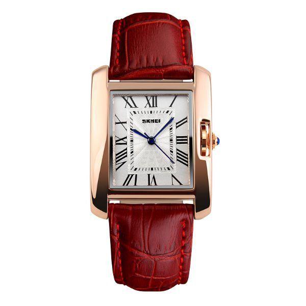 Relógio Feminino Skmei Analógico 1085 Vermelho