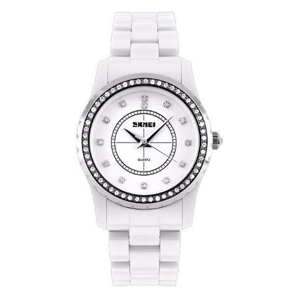 Relógio Feminino Skmei Analógico 1158 Branco