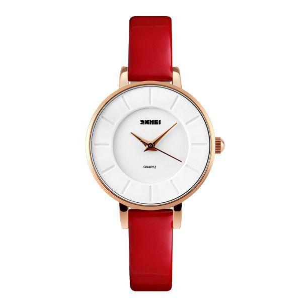 Relógio Feminino Skmei Analógico 1178 Vermelho