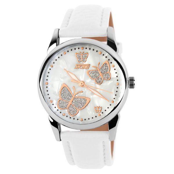 Relógio Feminino Skmei Analógico 9079 Branco