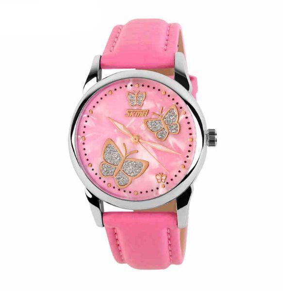 Relógio Feminino Skmei Analógico 9079 Rosa