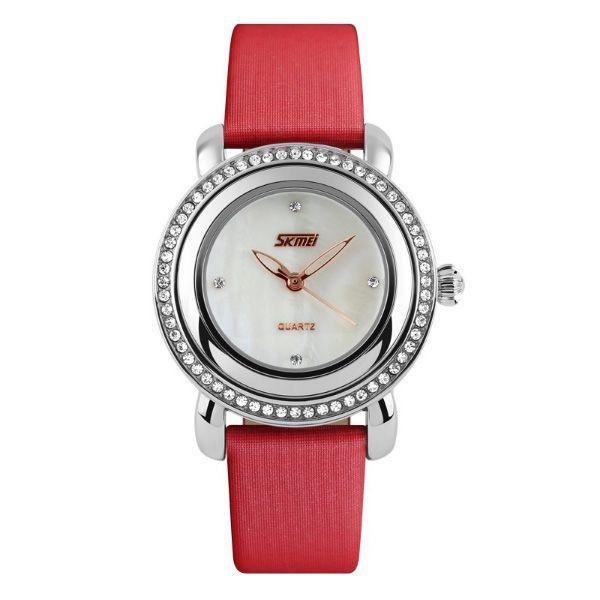 Relógio Feminino Skmei Analógico 9093 Vermelho