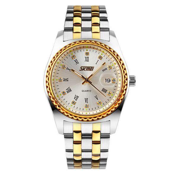 Relógio Feminino Skmei Analógico 9098 Prata