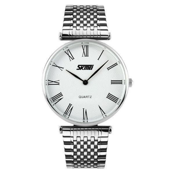 Relógio Feminino Skmei Analógico 9105 Branco