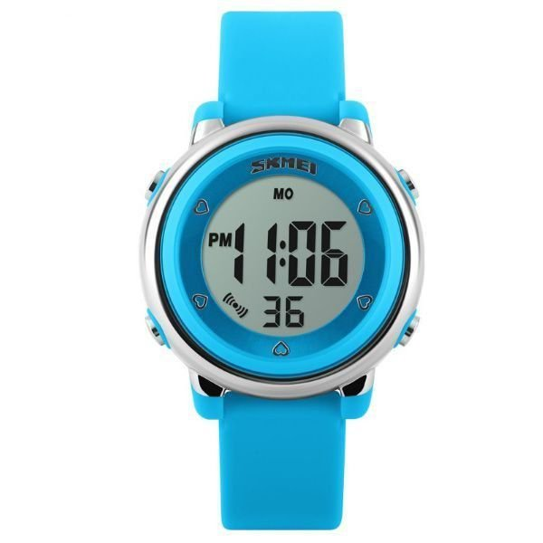 Relógio Infantil Menina Skmei Digital 1100 - Azul