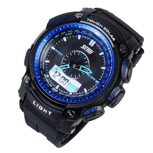 Relógio Skmei Anadigi  0910 Preto e Azul