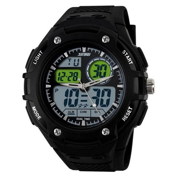 Relógio Skmei Anadigi 1018 Verde