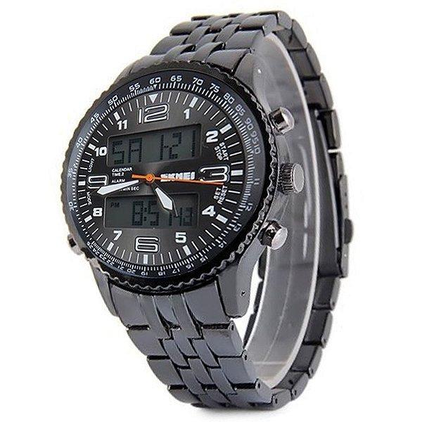 Relógio Skmei Anadigi 1032 Preto