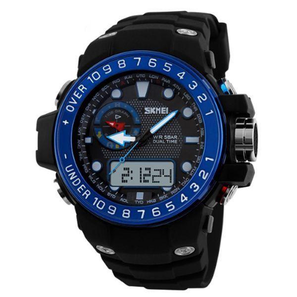 Relógio Masculino Skmei Anadigi 1063 AZ