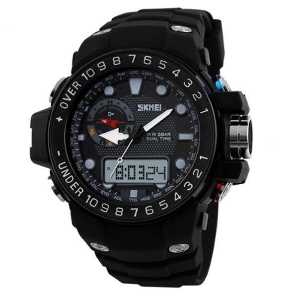 Relógio Masculino Skmei Anadigi 1063 PT