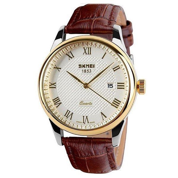 Relógio Skmei Analógico 9058 Marrom