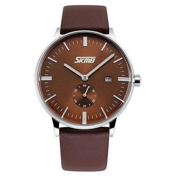 Relógio Masculino Skmei Analógico 9083 Marrom