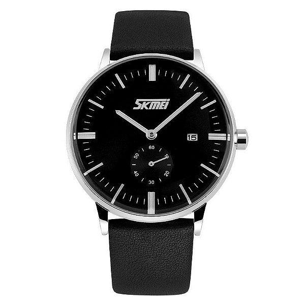 Relógio Masculino Skmei Analógico 9083 Preto
