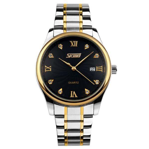 Relógio Masculino Skmei Analógico 9101 Preto