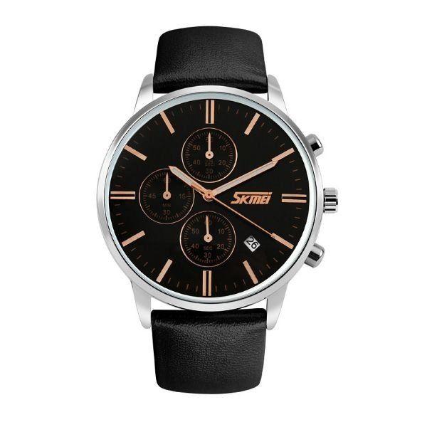 Relógio Masculino Skmei Analógico 9103 Preto