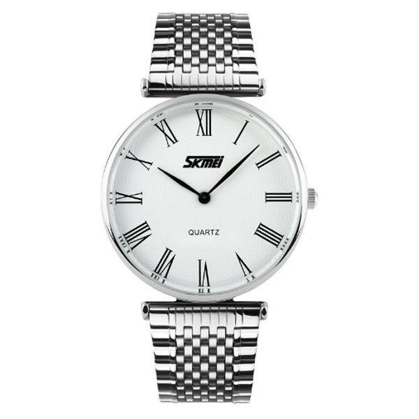 Relógio Masculino Skmei Analógico 9105 Branco
