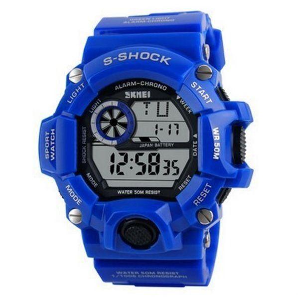 Relógio Masculino Skmei Digital 1019 Azul