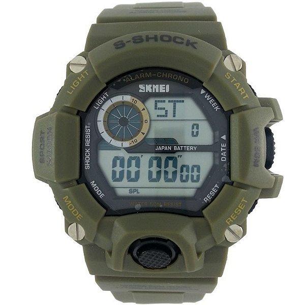 Relógio Masculino Skmei Digital 1019 Verde