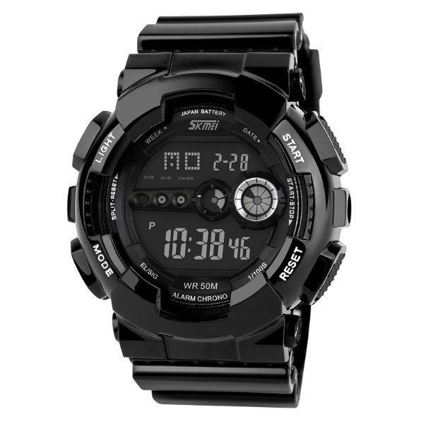Relógio Masculino Skmei Digital 1026 Preto