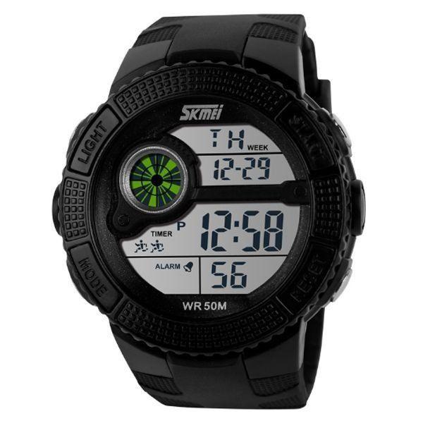 Relógio Masculino Skmei Digital 1027 Preto