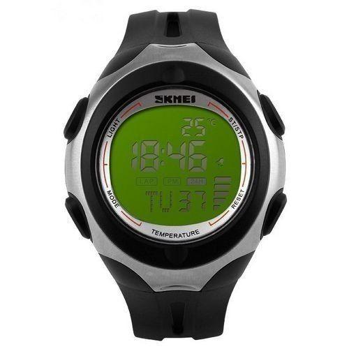 Relógio Skmei Digital 1080 Preto e Verde
