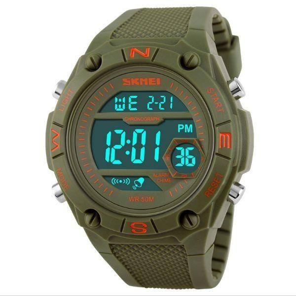 Relógio Masculino Skmei Digital 1093 Verde