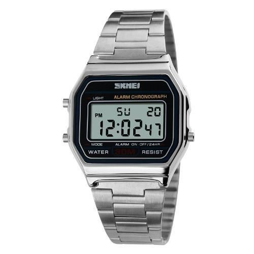 Relógio Unissex Skmei Digital 1123 - Prata