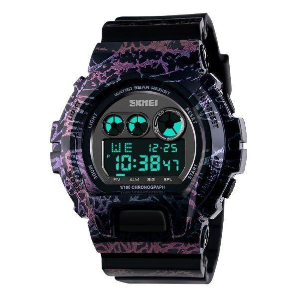 Relógio Masculino Skmei Digital 1150 Azul e Rosa