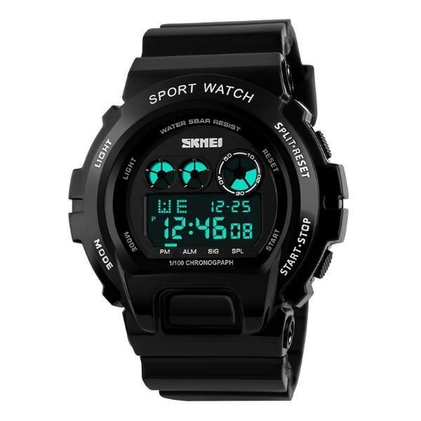Relógio Masculino Skmei Digital 1150 Preto