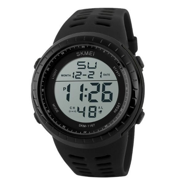 Relógio Masculino Skmei Digital 1167 Preto