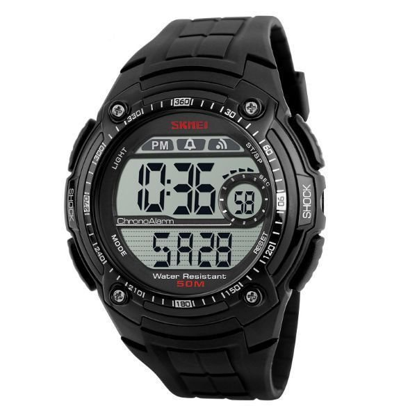 Relógio Masculino Skmei Digital 1203 Preto