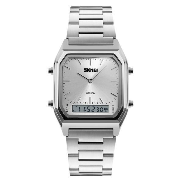 Relógio Unissex Skmei AnaDigi 1220 - Prata